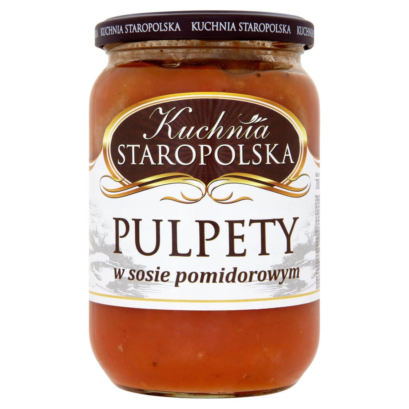 Kuchnia Staropolska Pulpety W Sosie Pomidorowym 700 G Sklep