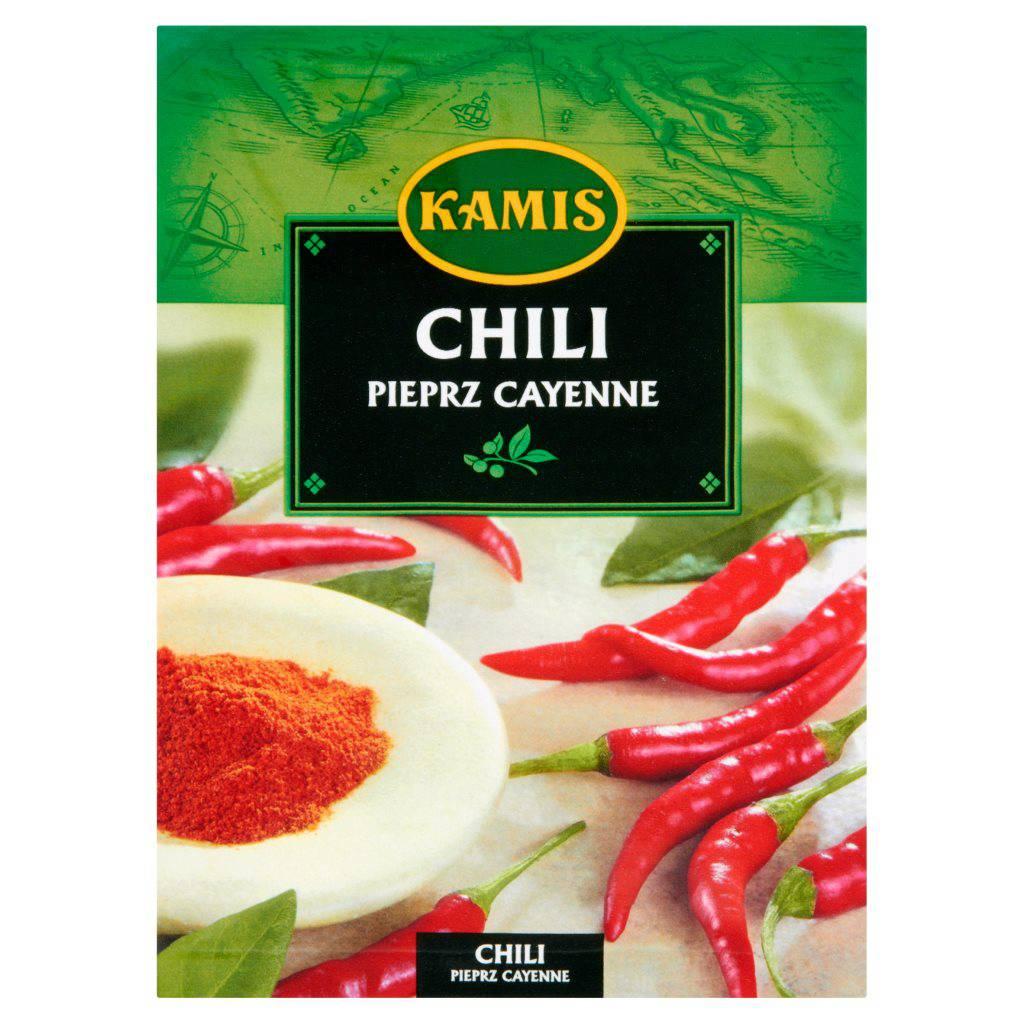 Kruszone płatki chili i inne nowości w ofercie KAMIS - Centrum PRasowe